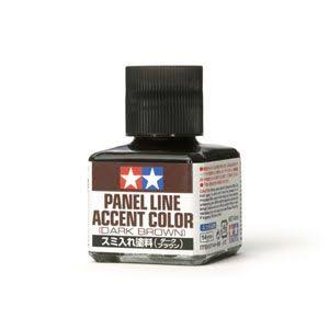 Tamiya Panel Accent Paint - Dark Brown, 40ml