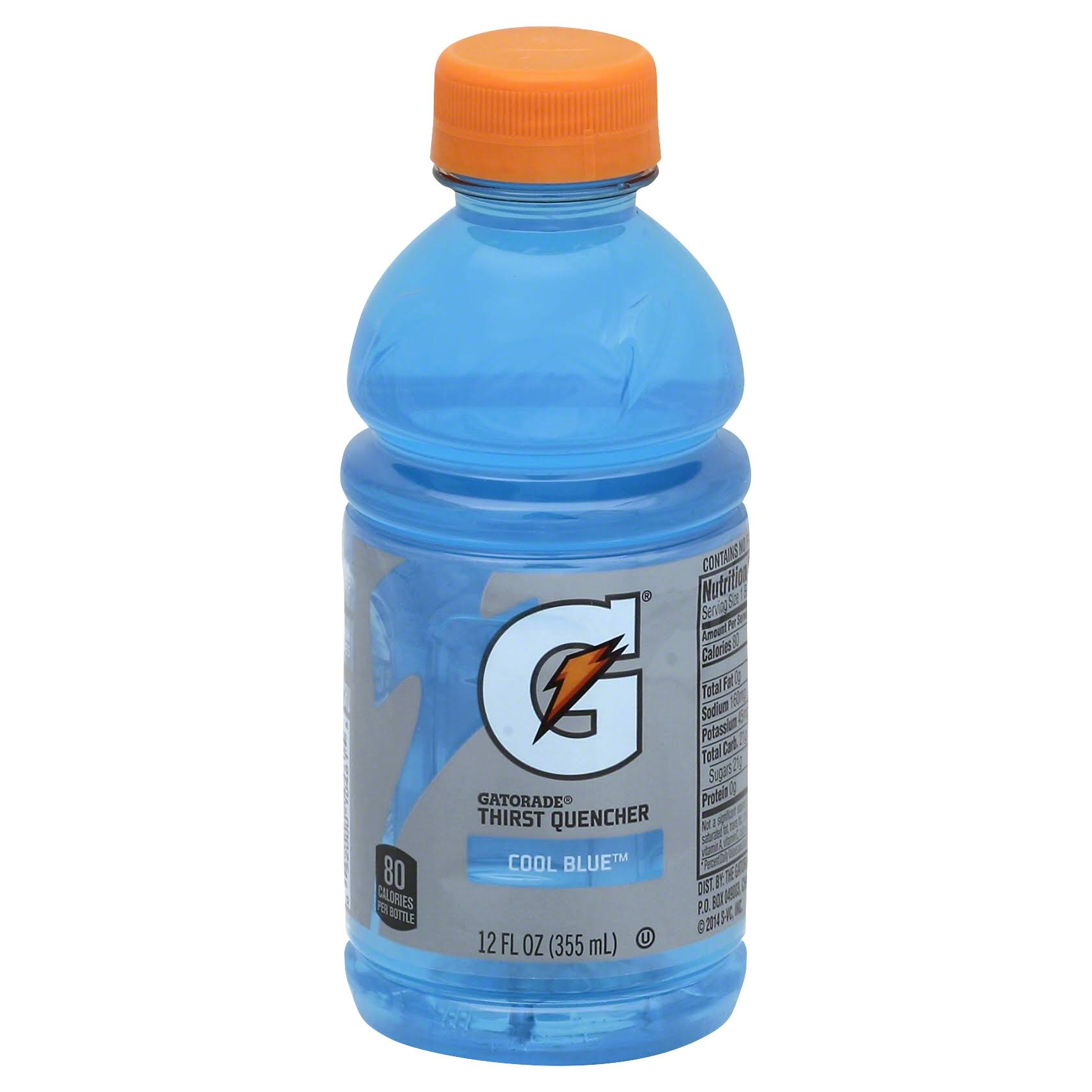 Gatorade G Series Thirst Quencher, Perform, Cool Blue - 12 fl oz