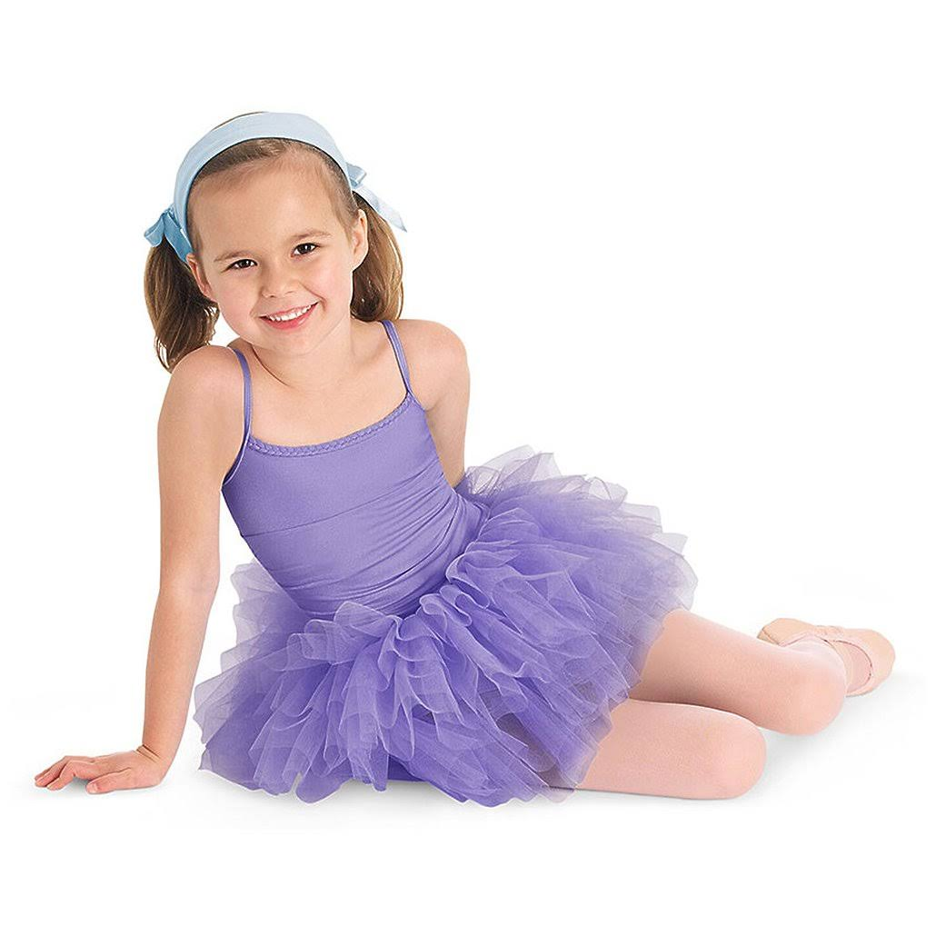 Bloch Glacier Tutu Leotard Dress Girl's Size: 6X-7