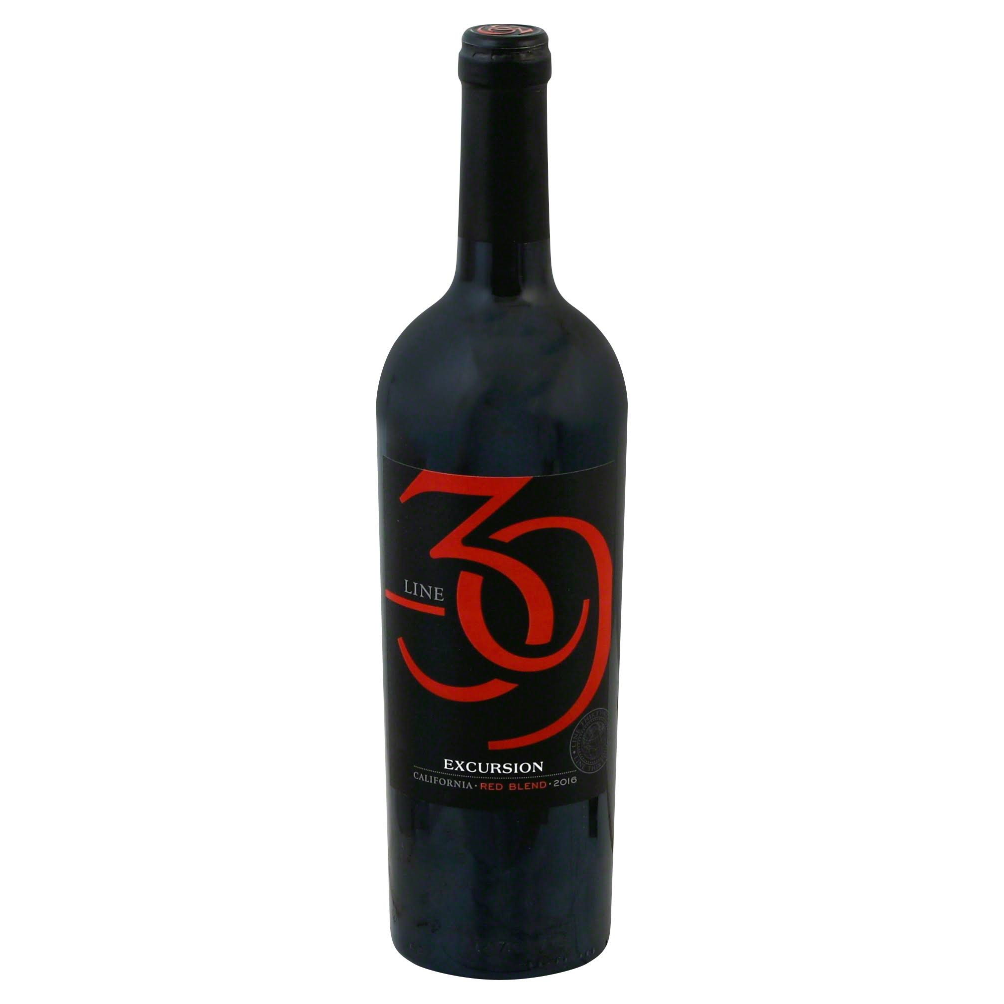 Line 39 Red Wine, Excursion, California, 2016 - 750 ml