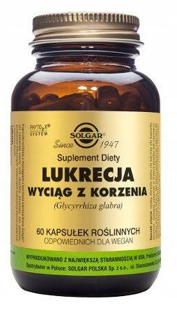 Solgar Deglycyrrhised Licorice Root Extract - 60 Capsules