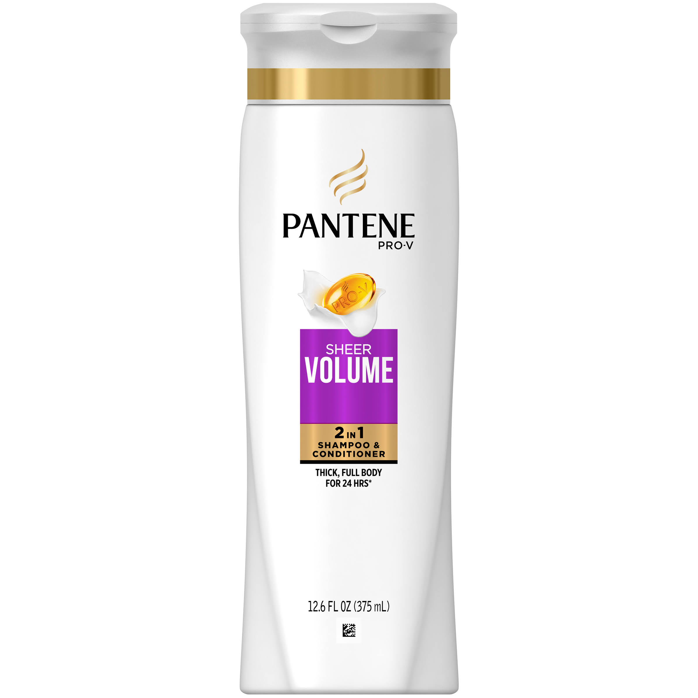 Pantene Pro-V Dreamcare Sheer Volume 2 in 1 Shampoo and Conditioner - 12.6oz