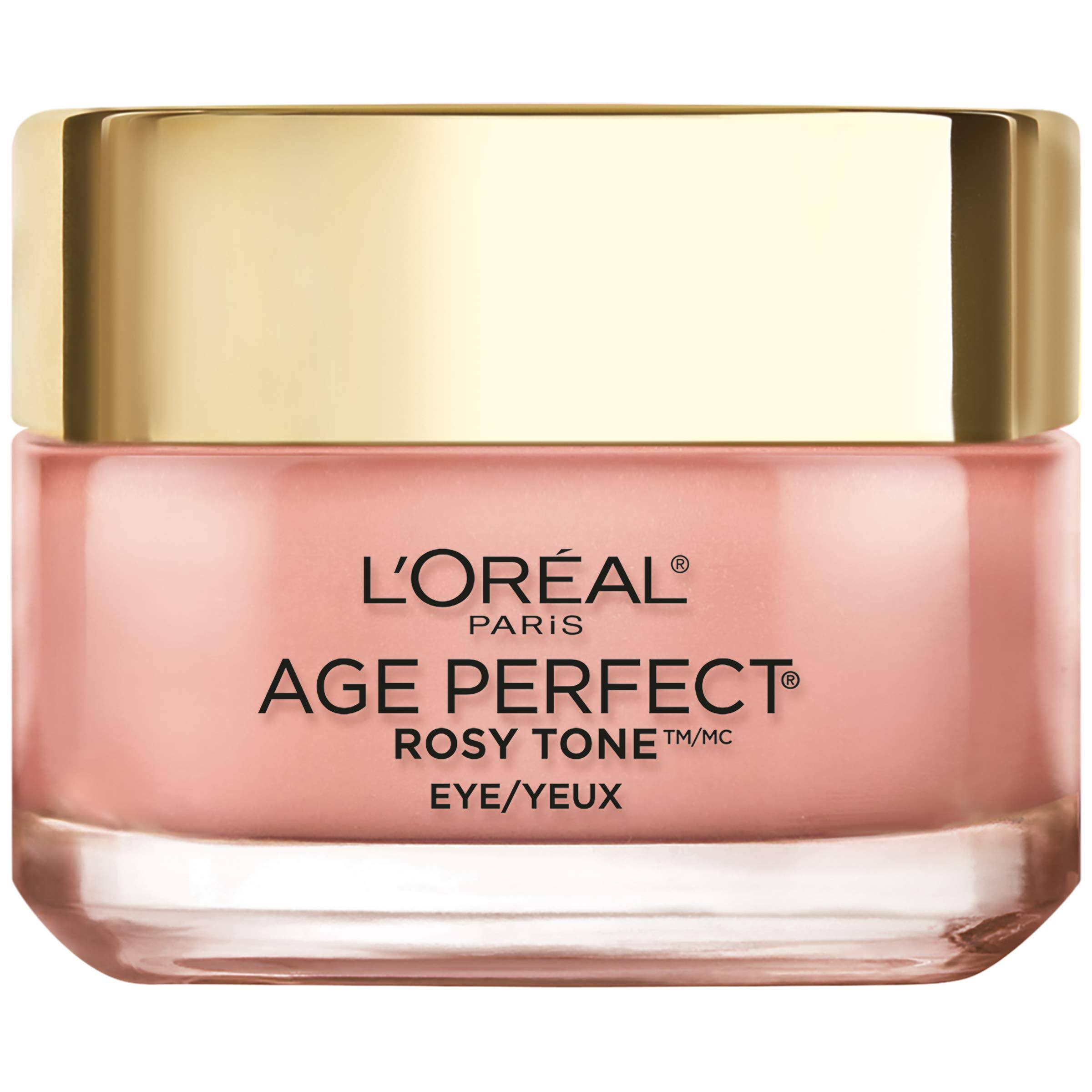 Loreal Eye Brightener, Age Perfect, Rosy Tone - 0.5 oz