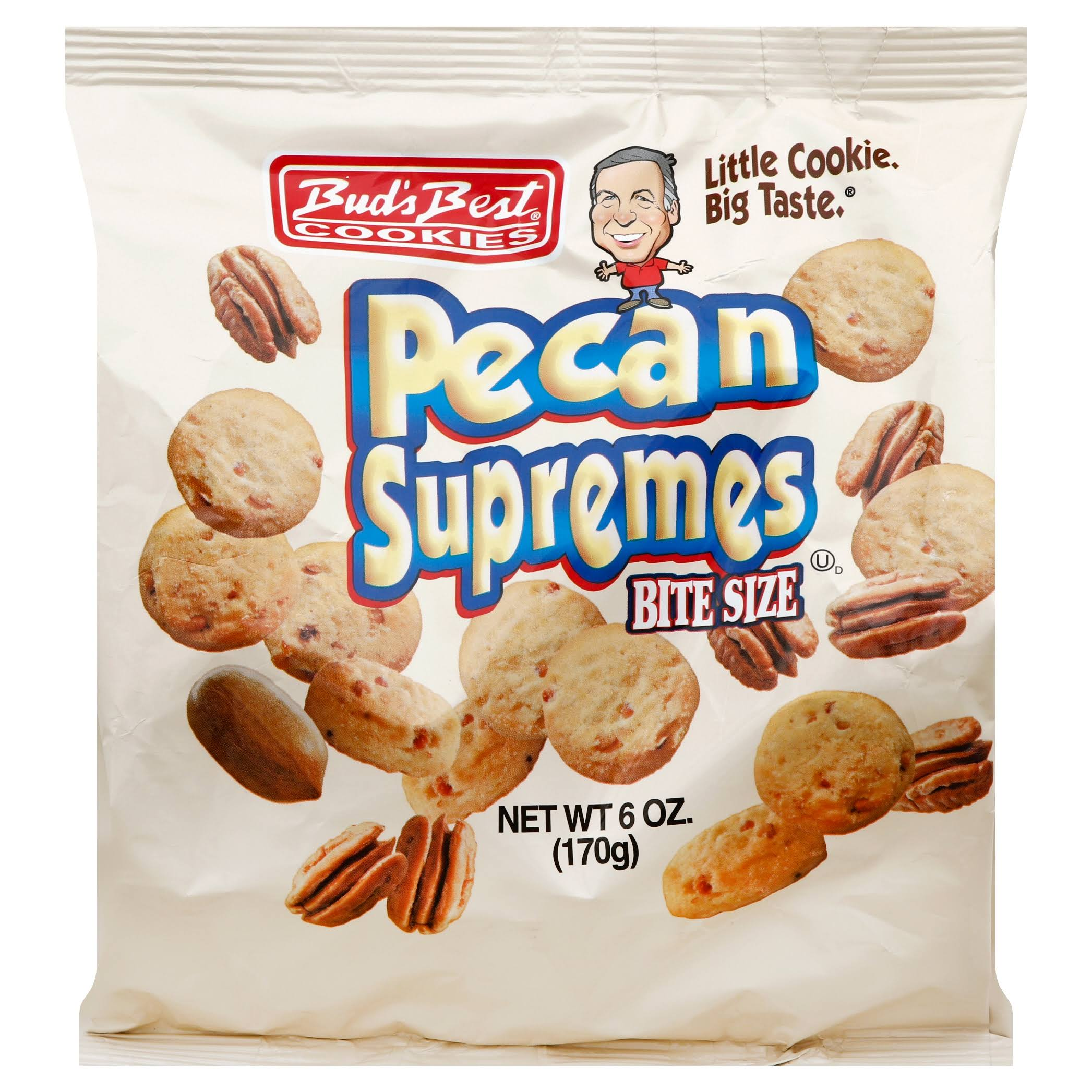 Buds Best Pecan Supremes Cookies