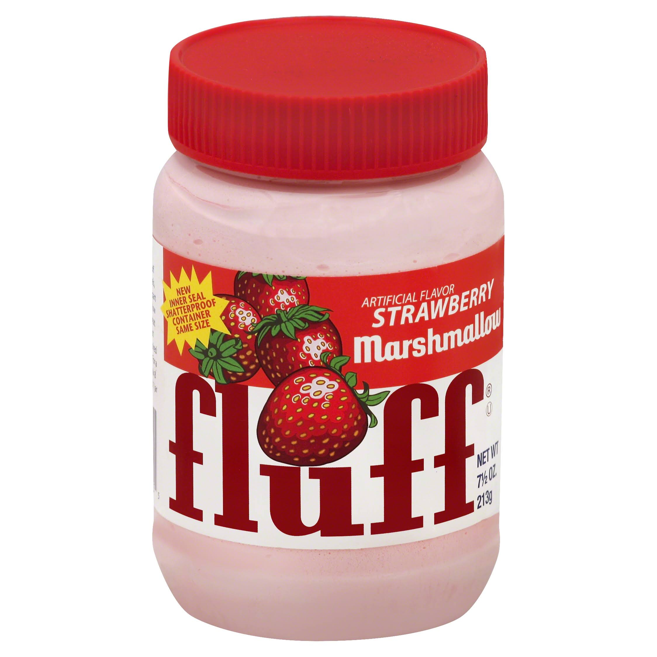 Fluff Marshmallow - 213g, Artificial Strawberry