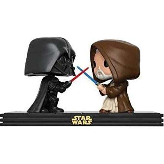 Funko Pop Star Wars Vinyl Figure - Darth Vader Dueling with Obi Wan Kenobi, 3.75""