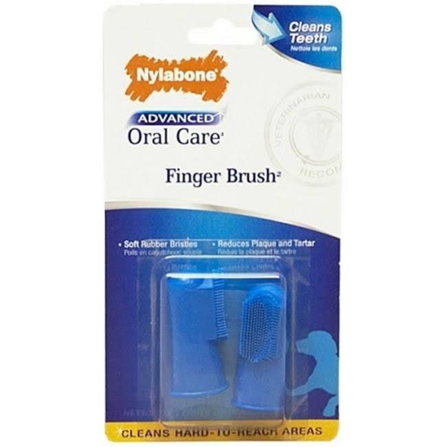 Nylabone Advanced Oral Care Finger Brush - 2 Count