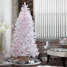 7ft Black Pencil Christmas Tree by Red Ashley Pre Lit Christmas Tree By Sterling Tree Company Hayneedle