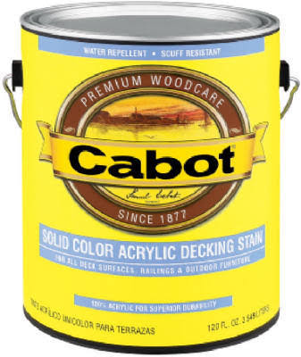 Cabot Samuel Deep Base Acrylic Decking Stain - 1 qt bucket