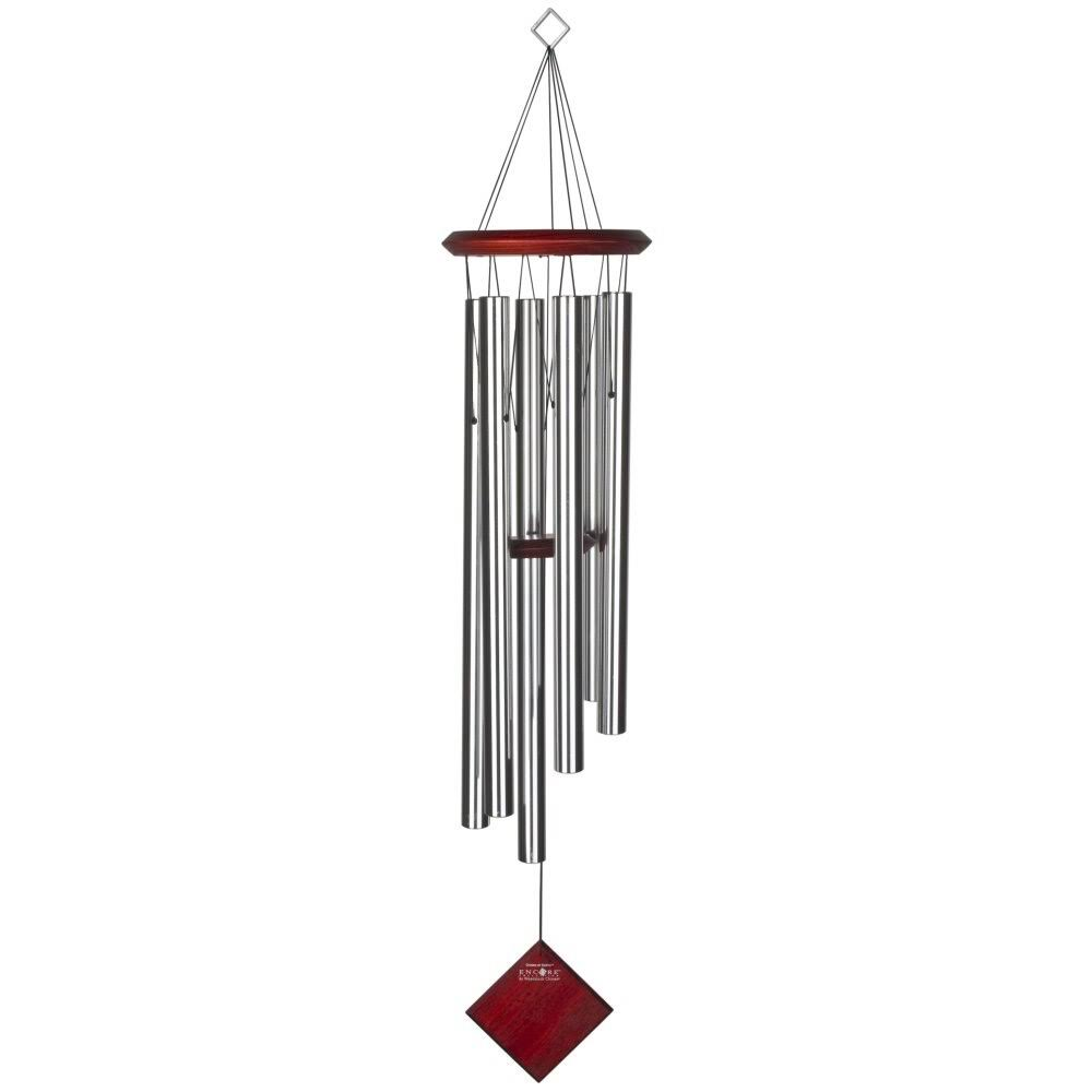 Woodstock Earth Wind Chime - Silver