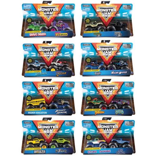 Monster Jam Vehicle - Assorted Models, 2 Pack