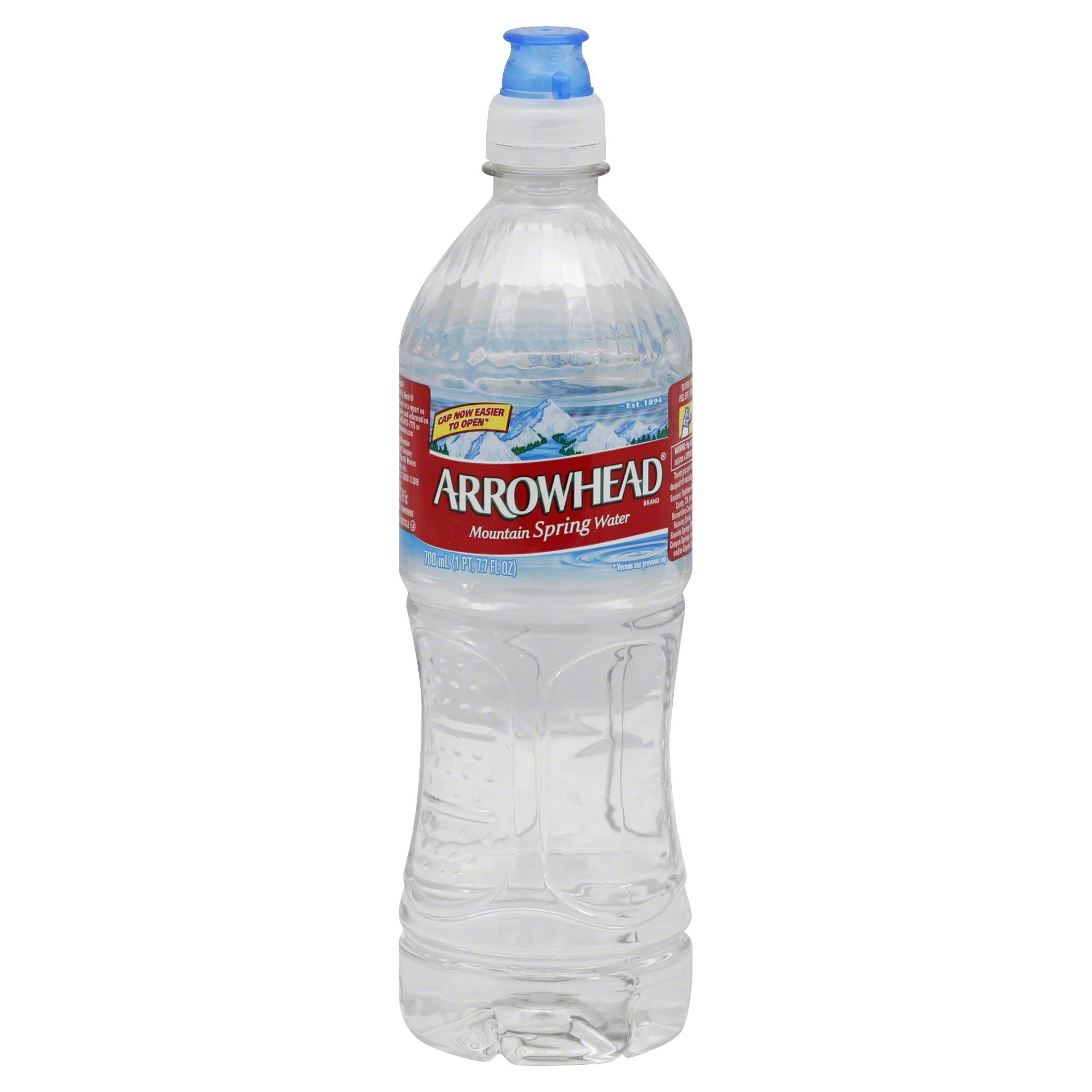 Arrowhead Water, Mountain Spring - 23.7 fl oz