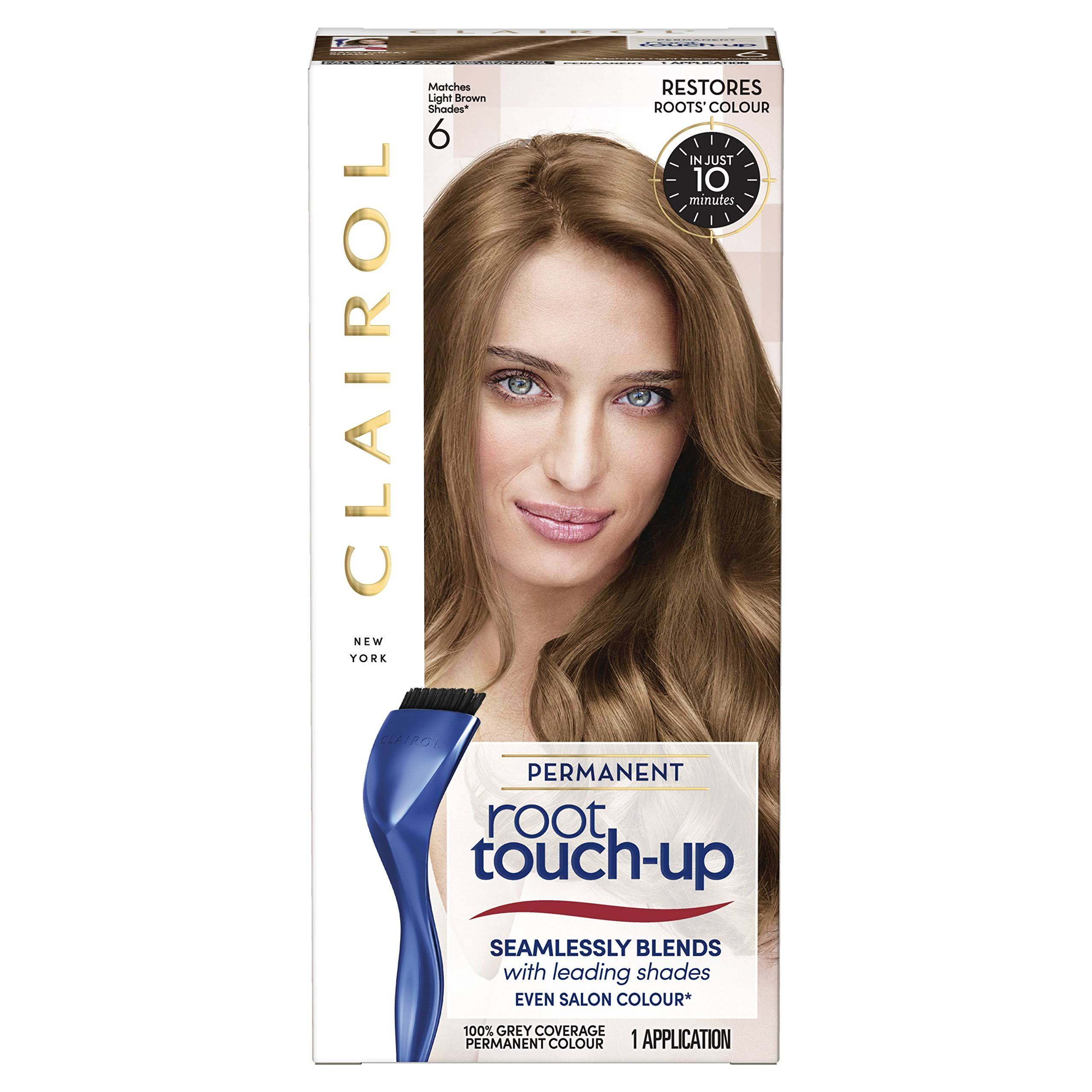 Clairol Root Touch Up Permanent Hair Dye - 6 Light Brown