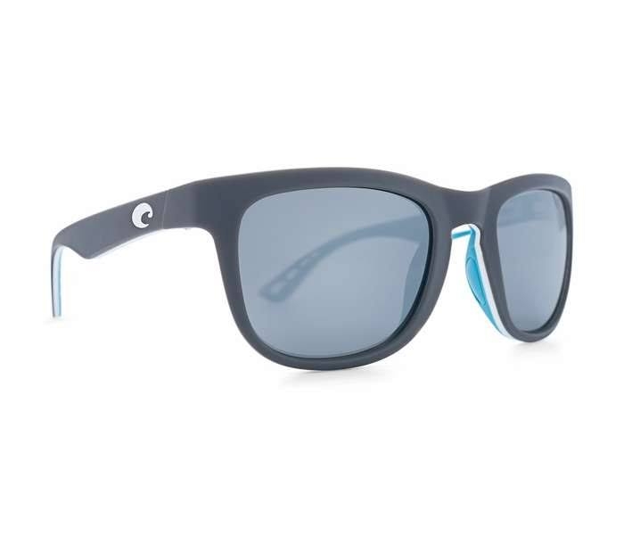 Costa Men's Sunglasses - Matte Grey, White & Sea