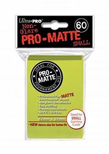 Ultra Pro Pro-Matte Sleeves - Small, 60 Sleeves