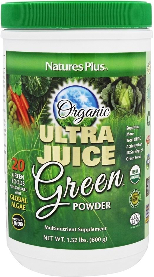 Nature's Plus Organic Ultra Juice Green Powder - 15 Pack