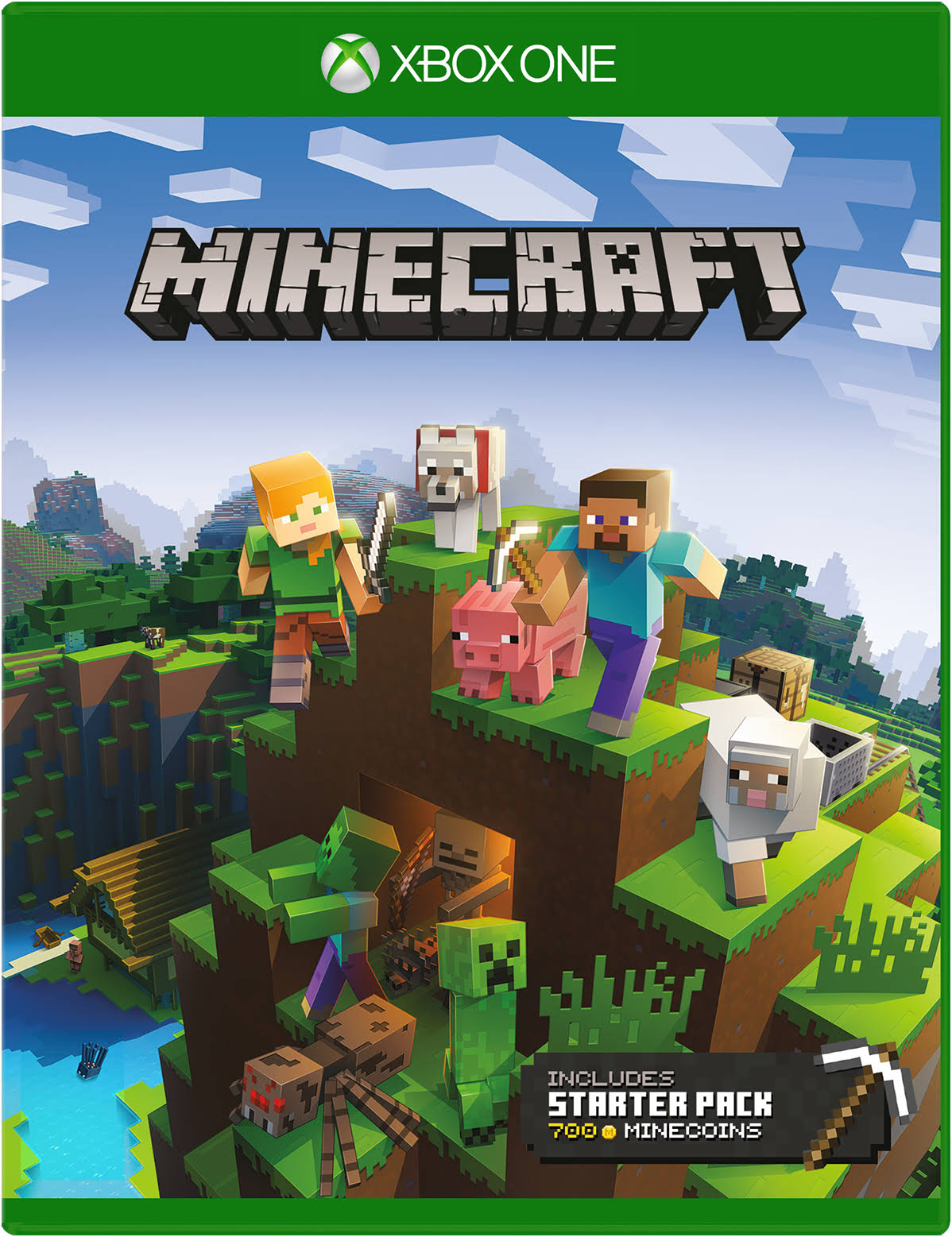 Minecraft: Starter Pack - Xbox One