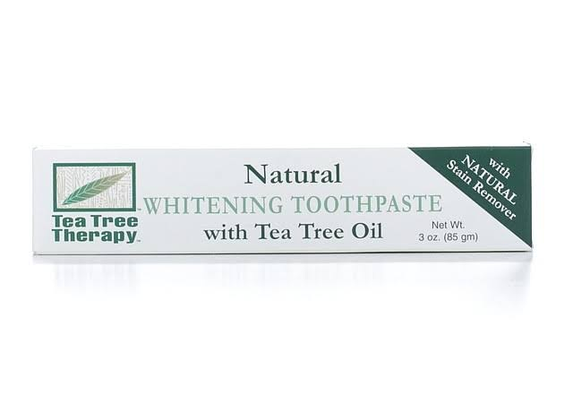 Tea Tree Therapy Whitening Toothpaste With Tea Tree Oil