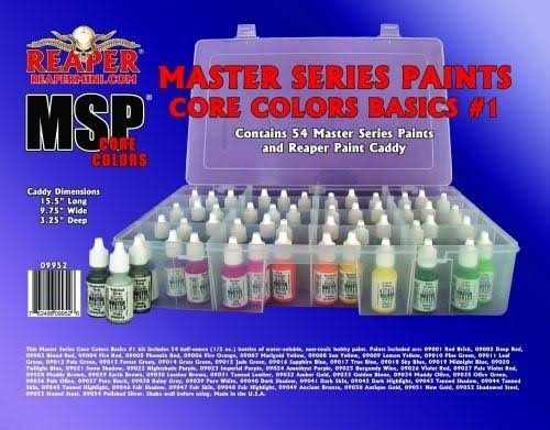 Reaper Miniatures MSP #09952 Master Series Paints Core Colors Basics