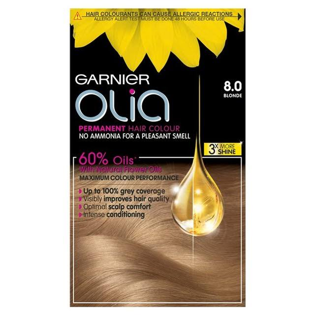 Garnier Olia Permanent Hair Dye - 8.0 Blonde