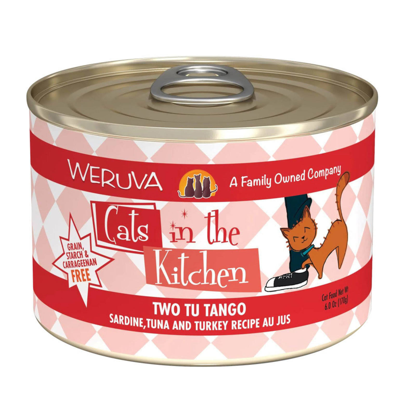 Weruva Cats in The Kitchen Two Tu Tango - 6 oz.
