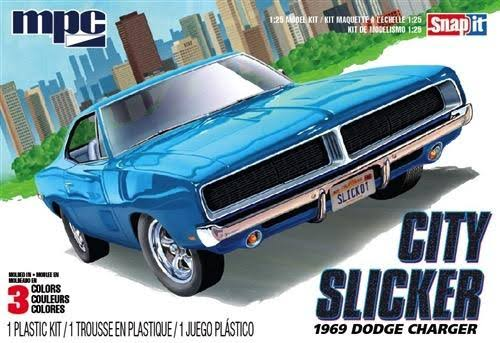 MPC 1969 Dodge Charger R/T City Slicker