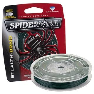 Spiderwire Stealth Braid Moss Green