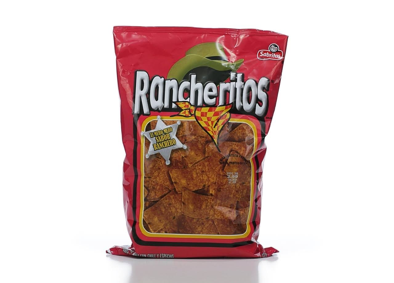 Frito-Lay Rancheritos Tortilla Chips - Ranch