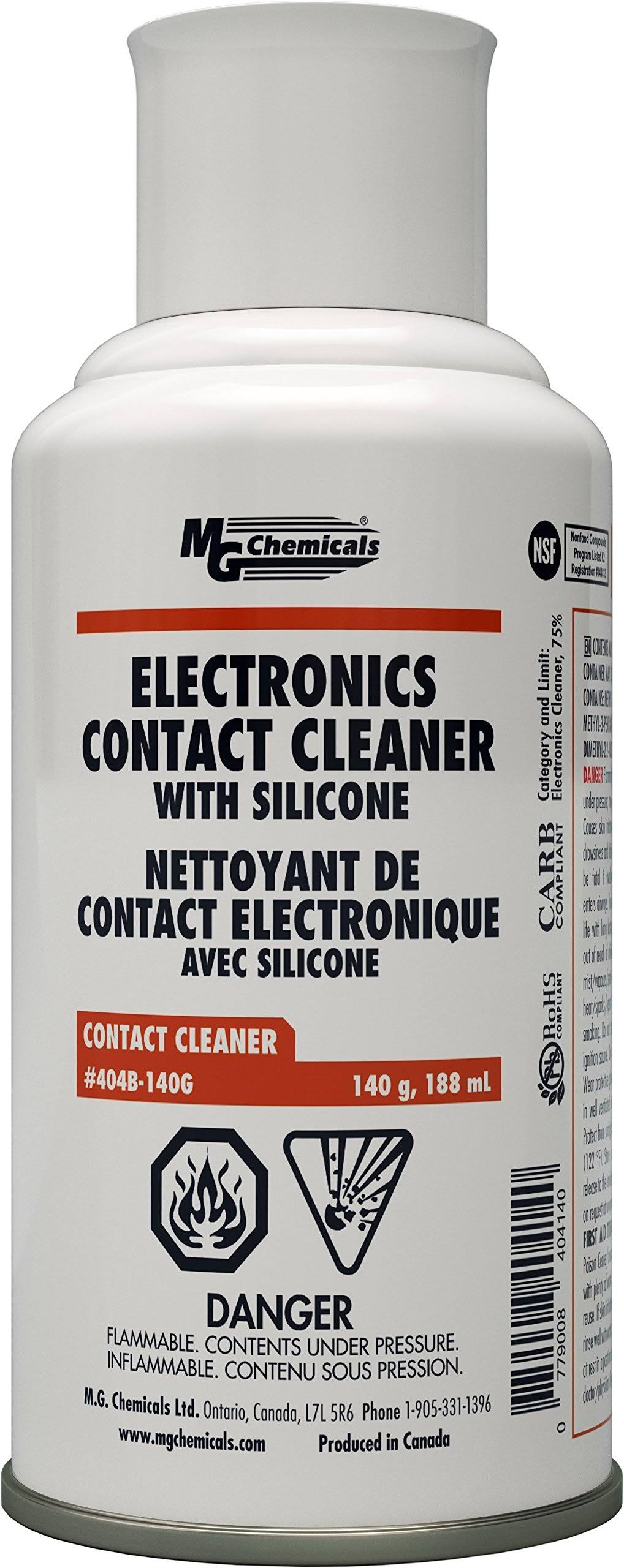 MG Chemicals Contact Cleaner with Electronic Grade Silicones - 140g