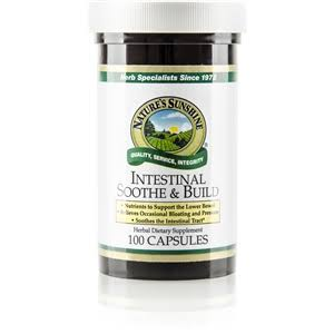Nature's Sunshine - Intestinal Soothe & Build - 100 Capsules