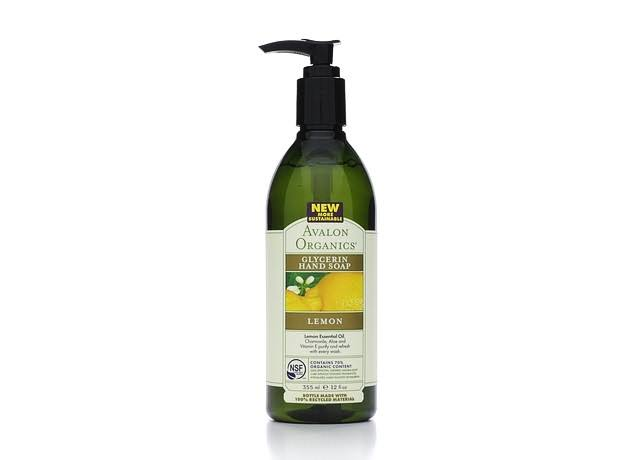 Avalon Organics Hand Soap, Glycerin, Refreshing Lemon - 12 fl oz
