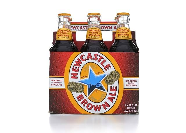 Newcastle Brown Ale - 6 x 33 cl