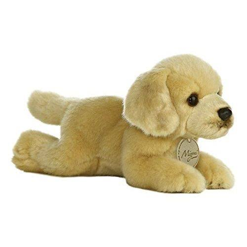 Aurora World Miyoni Golden Lab Dog Plush Toy - 8""