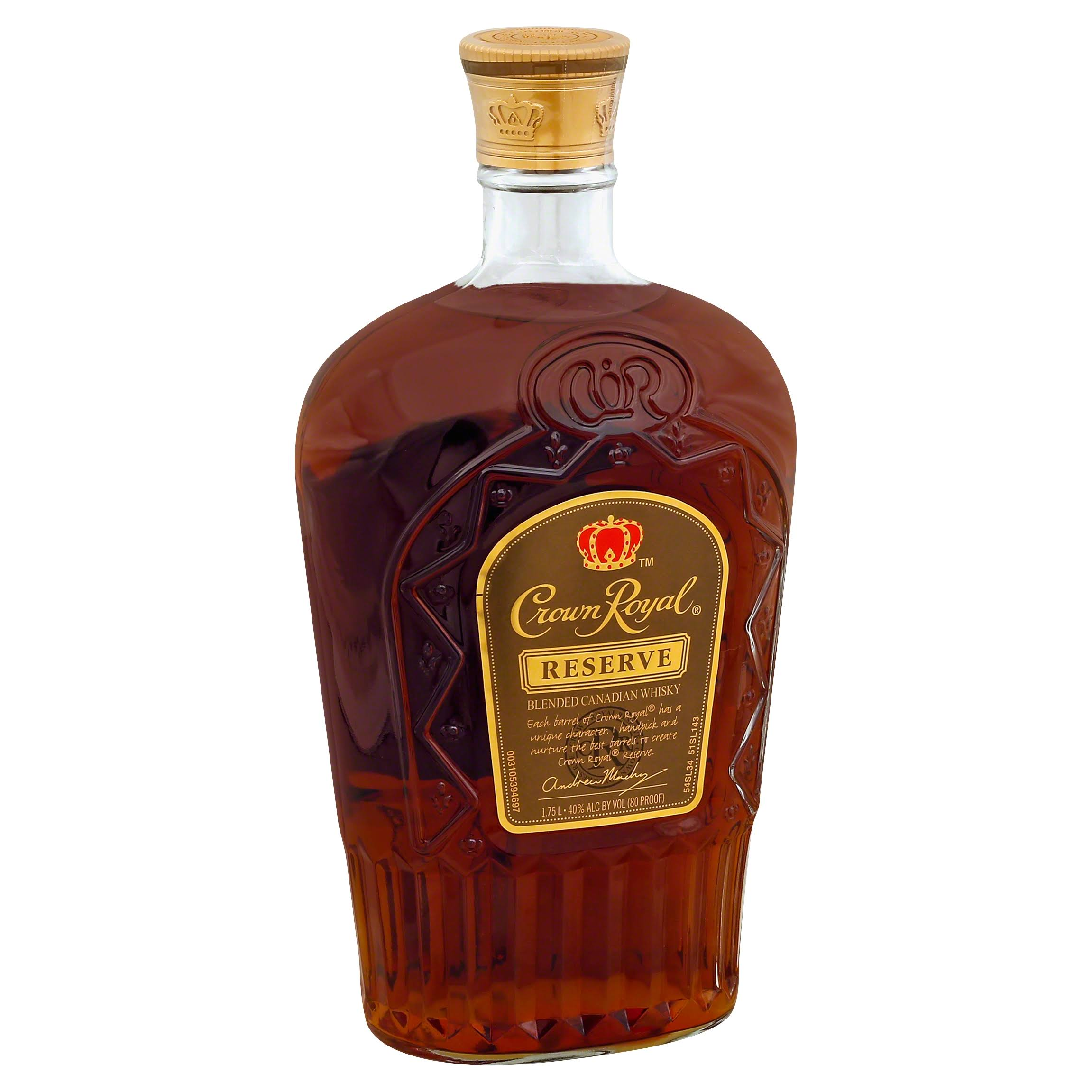 Crown Royal Reserve Whisky, Blended Canadian - 1.75 lt