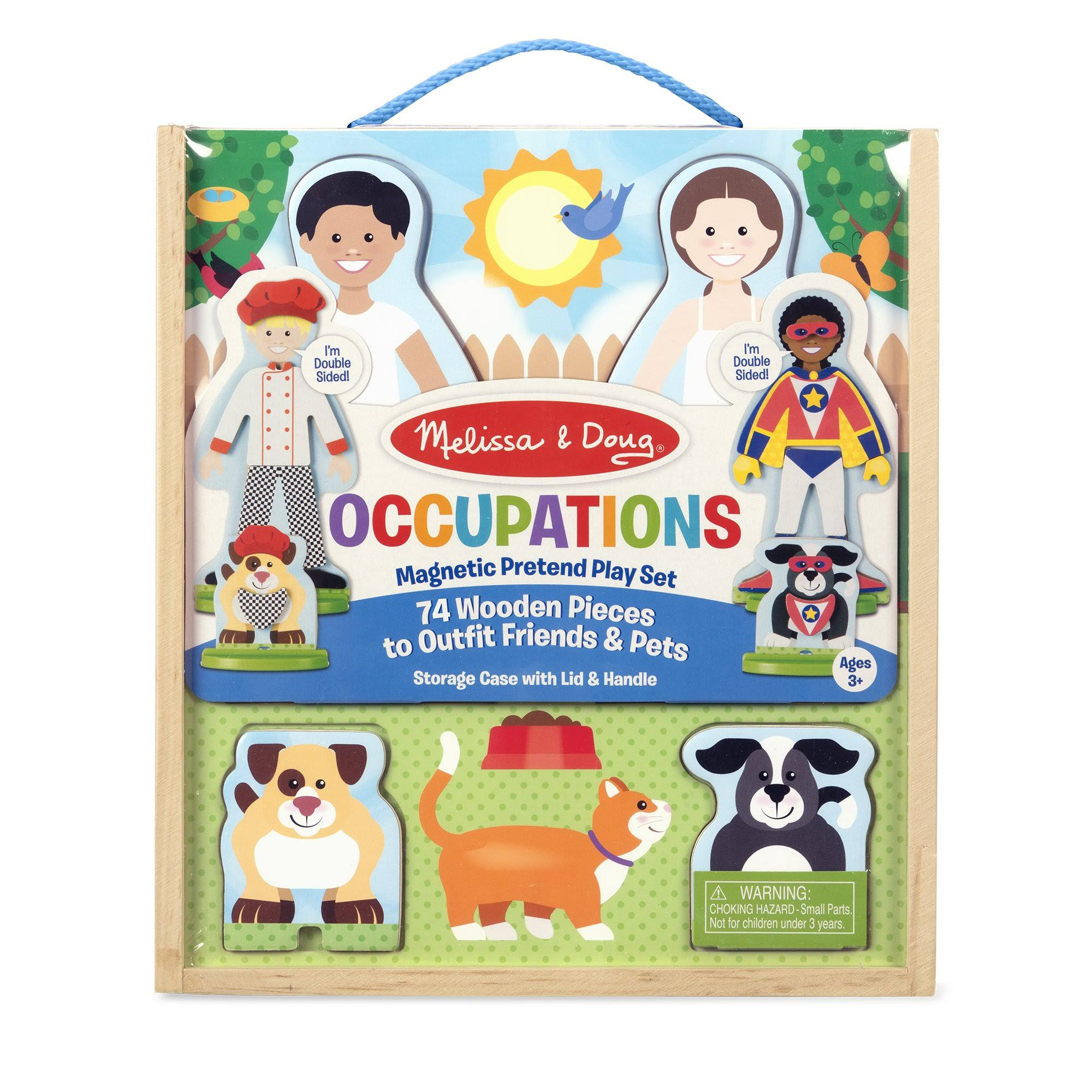 Melissa & Doug - Occupations Magnetic Pretend Play Set