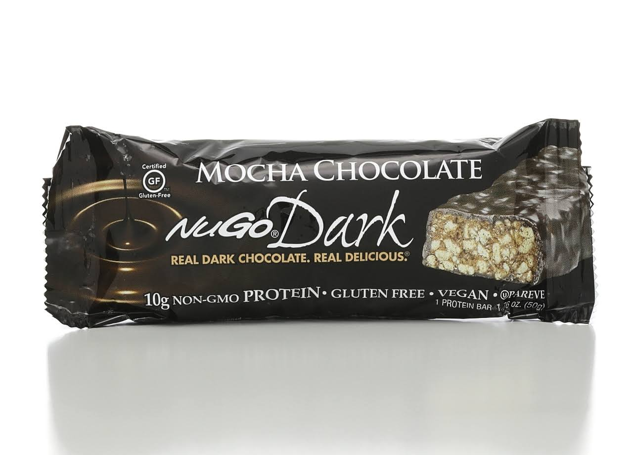 Nugo Nutrition Bar - Dark Mocha Chocolate, 50g