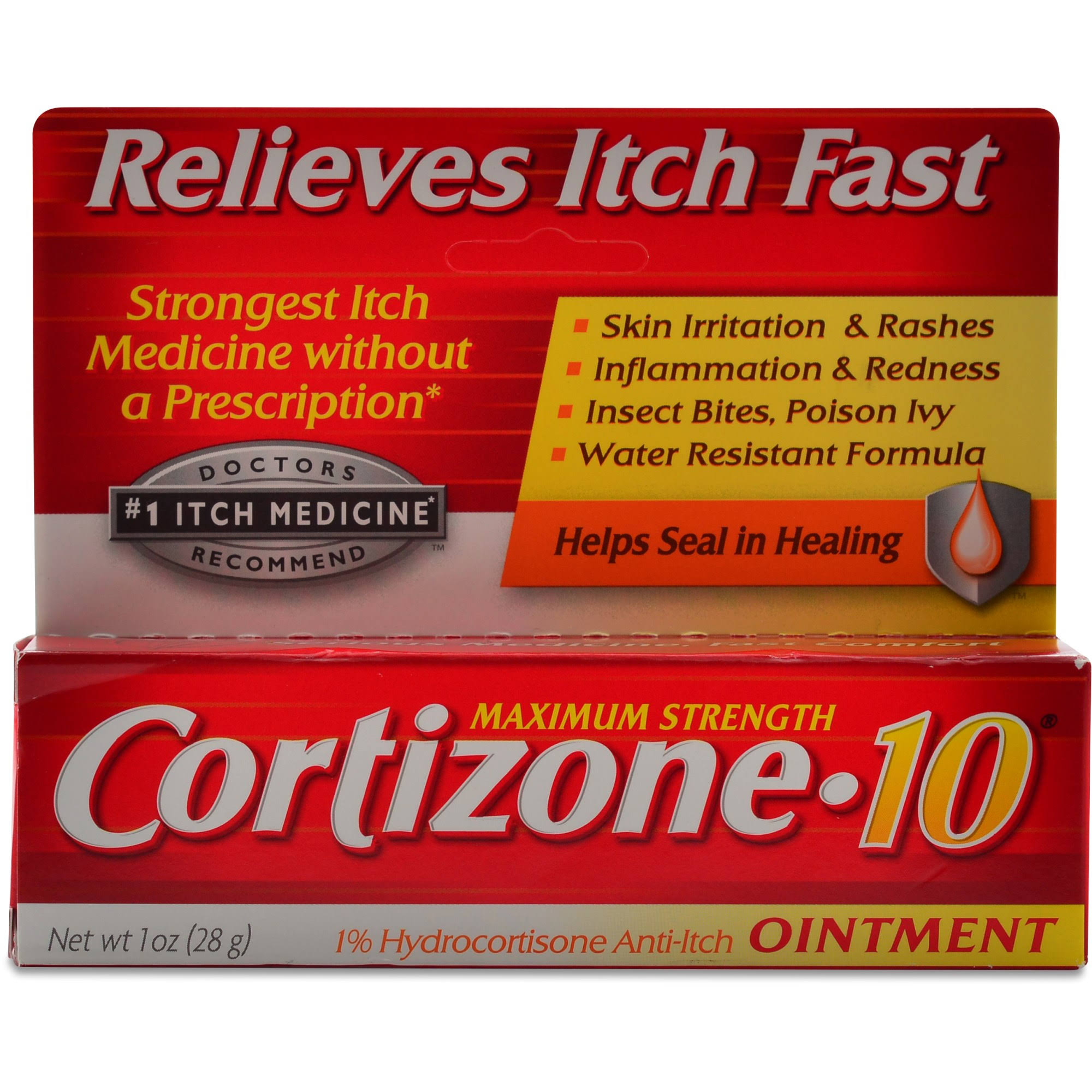 Cortizone-10 Maximum Strength Anti-Itch Ointment - 1oz