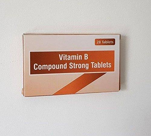 Vitamin B Compound Strong Tablets - 28 Tablets