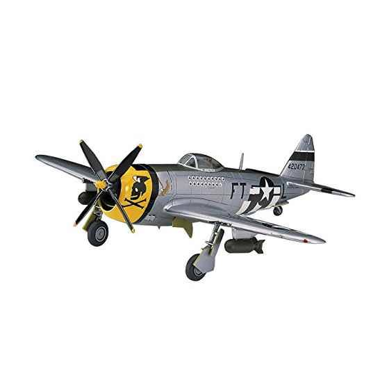 Hasegawa A8 Republic P-47D Thunderbolt Playset - Scale 1:72