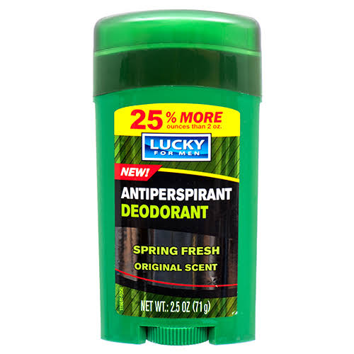 Lucky Super Soft Men's Antiperspirant Deodorant - 2.5oz
