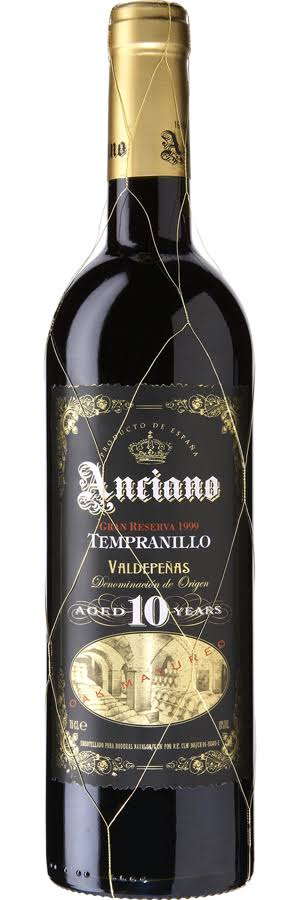 Anciano Gran Reserva Aged 10 Years 750ml