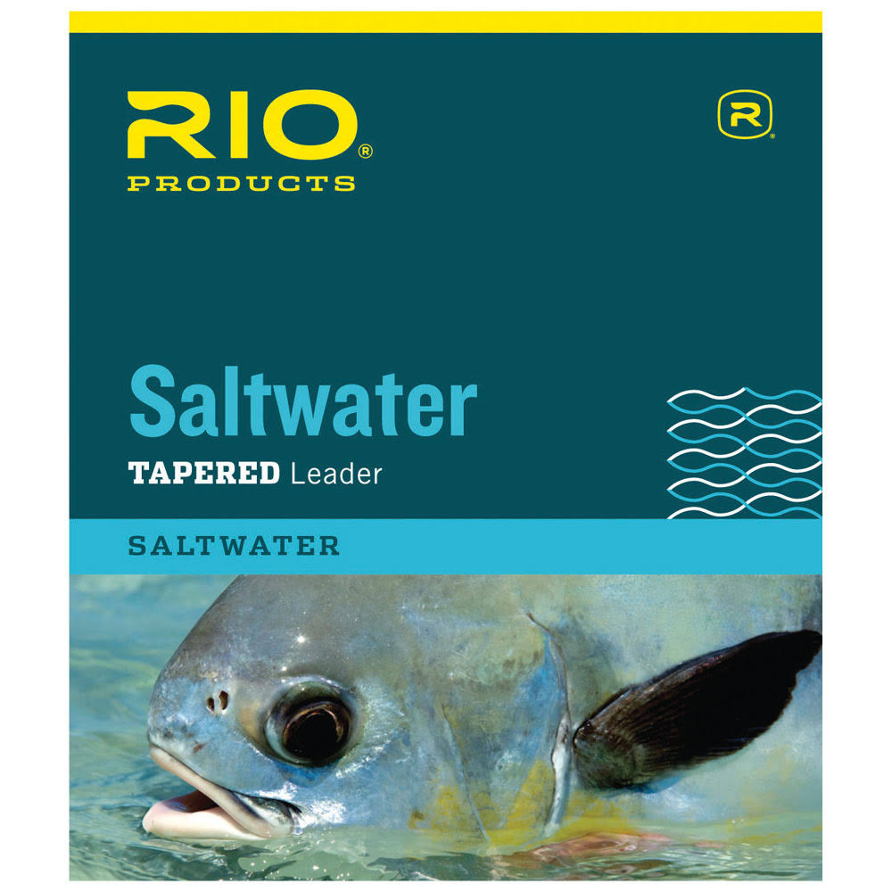 Rio Saltwater Tapered Leader - 10'