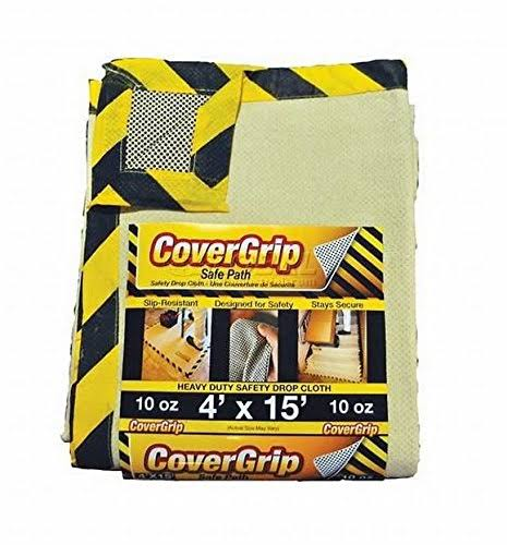 Covergrip Safety Drop Cloth - 4'x15'