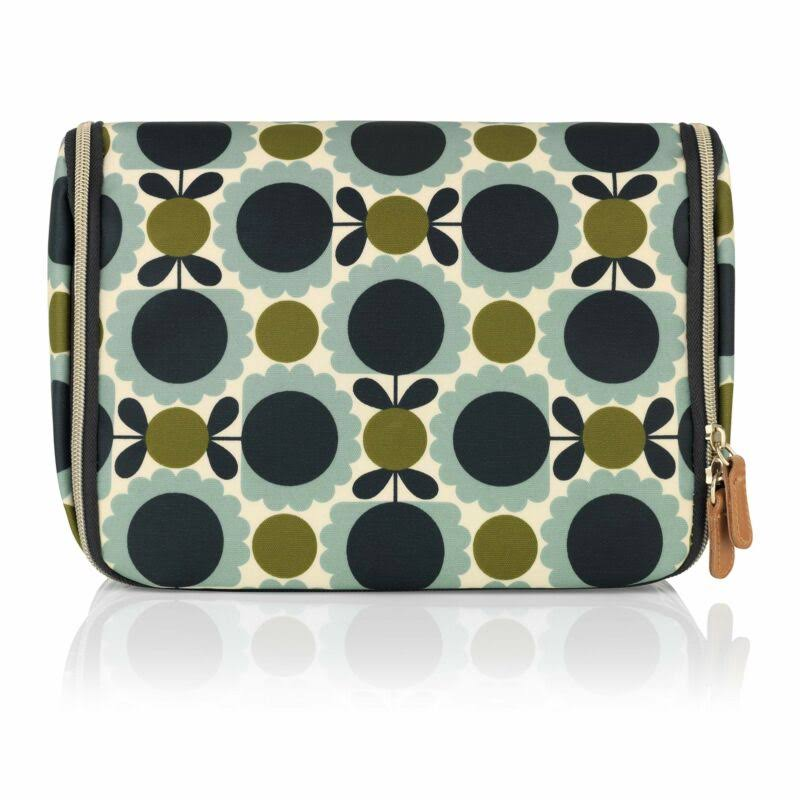 Orla Kiely Scallop Flower Hanging Wash Bag