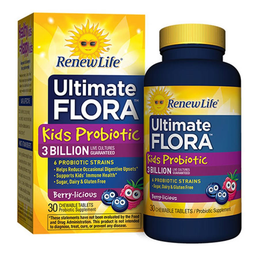 Renew Life Ultimate Flora Kids Probiotic Supplement - 60ct