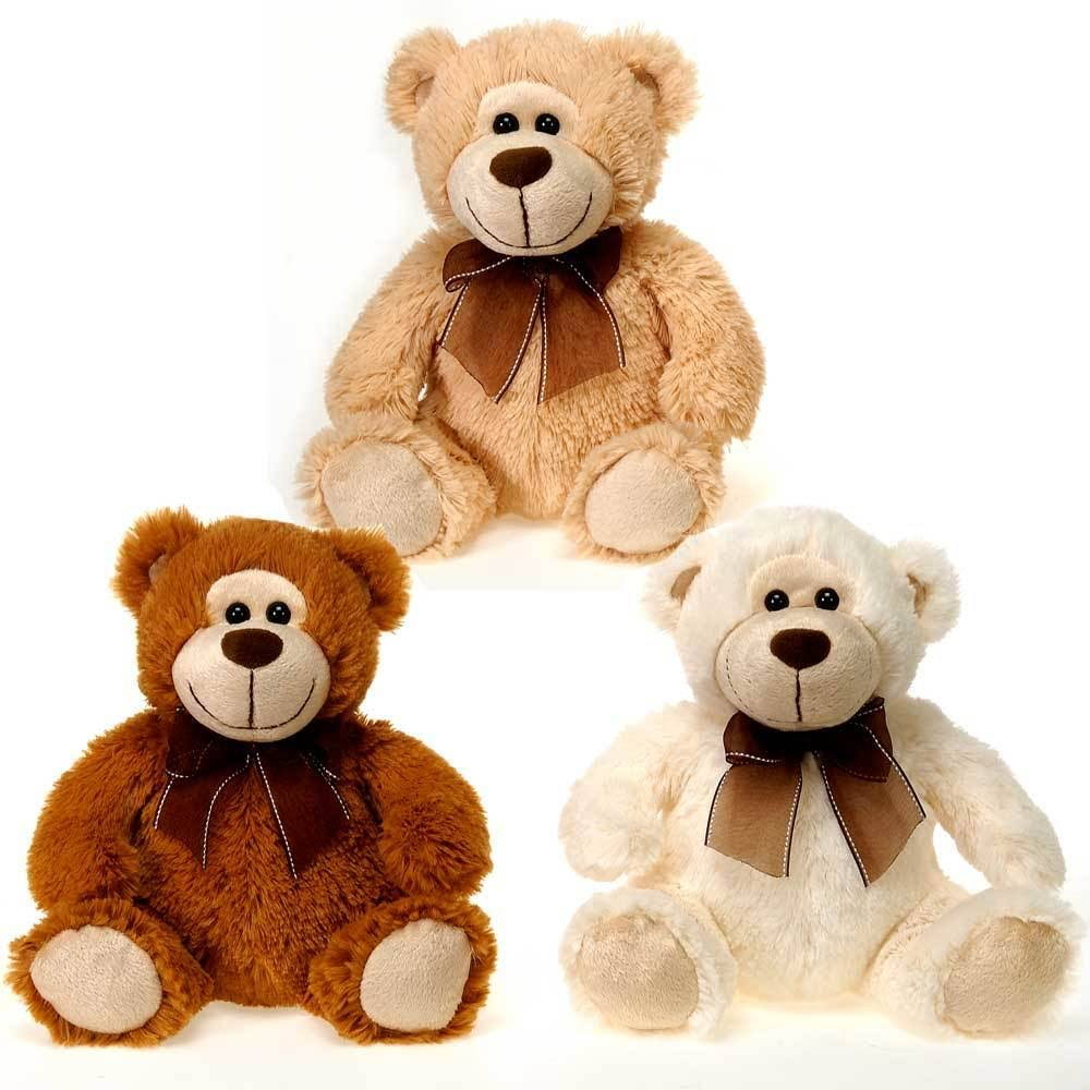 "DDI 9"" Bears Beige Creme and Brown - Case of 24"