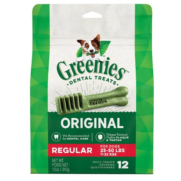 Greenies Dental Treats - Regular