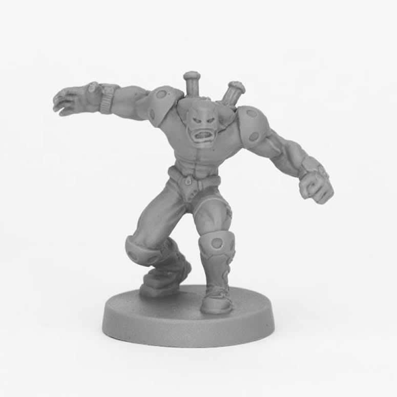 Reaper Miniatures Bones Black: Crosswire, Super Villain