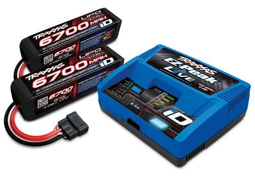 Traxxas 4S Battery/Charger Completer Pack
