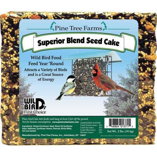 Pine Tree Farms 1371 Superior Blend Seed Cake - 2lbs
